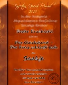 FF-Award 2010 Bester Erzählstil